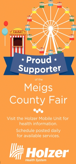 Proud Supporter of the Meigs County Fair