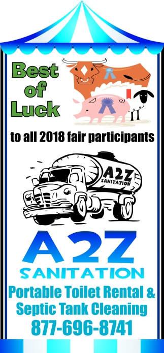 Best of Luck to all 2018 fair participants