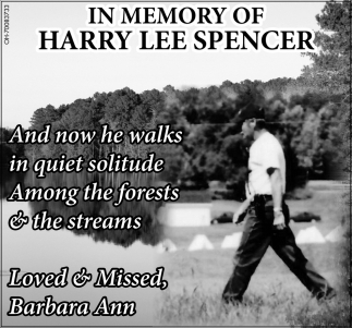 Harry Lee Spencer