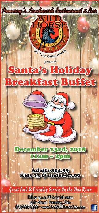 Santa's Holiday Breakfast Buffet