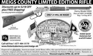 Meigs County Limited Edition Rifle