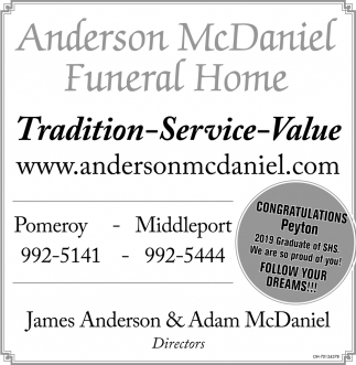 Tradition, Service, Value