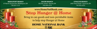 Stop Hunger @ Home