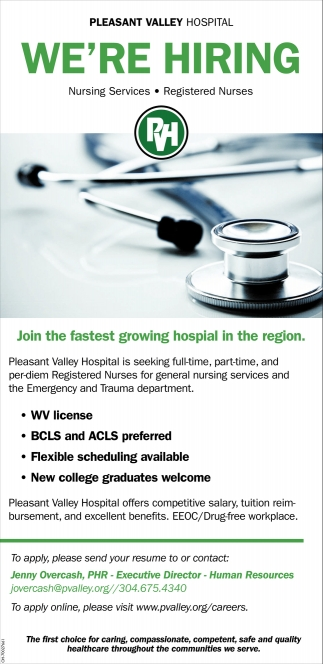 Nursing Services, Registerd Nurses